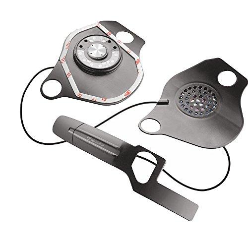 Interphone Unisex MICINTERPHOSCHU18 Audio Kit für Motorradhelm, Schwarz, Einheitsgröße