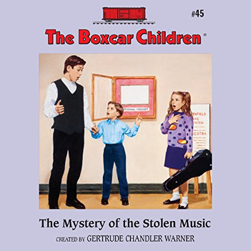 The Mystery of the Stolen Music cover art
