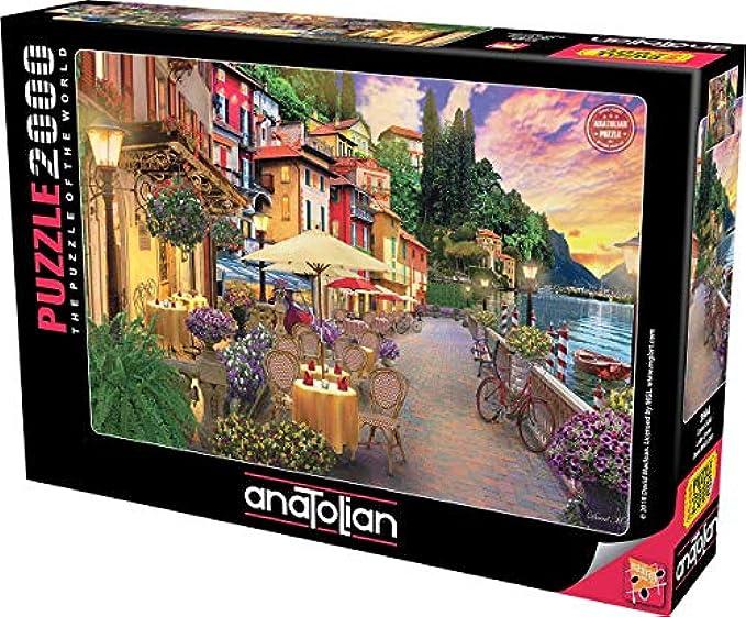 Anatolian Puzzle - Lake Como, 2000 Piece Jigsaw Puzzle
