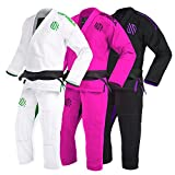 Sanabul New Item Women's Brazilian Jiu Jitsu Gi (White, W2)
