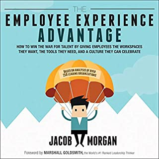 The Employee Experience Advantage audiobook cover art