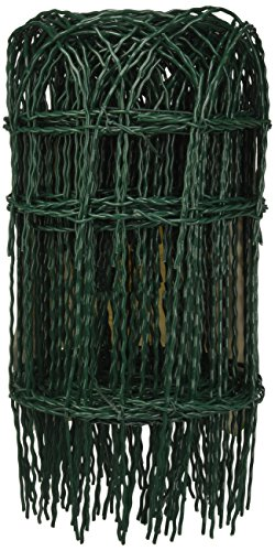 Cavallino 56514 Rete Ornamentale, Plastic, 10 mt, 40 cm, Verde