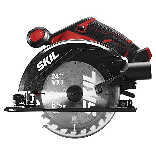 SKIL - Kit combinado de 4 herramientas de 20 V, taladro inalámbrico de 20 V, sierra alternativa, sierra circular y foco, incluye dos baterías de litio de 2.0 Ah y un cargador - CB739701