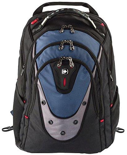 Rucksack Ibex 43,2 cm (17 Zoll), Wenger, Gehäusefarbe: Schwarz, Blau, Außentiefe: 31 cm, Außentiefe: metrisch 310 mm, Außenhöhe: Imperial 480 mm, Außenbreite: