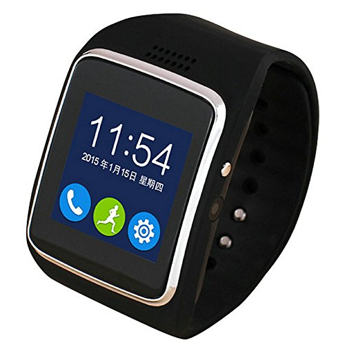 Lemumu Il nuovo WeChat QQ Touch Screen Mobile Phone Card fotocamera per Android Bluetooth universale Smart Watch