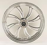 Ultima Vortex Aluminum Front Wheel, 18' x 3.5' Dual Disc. # 37-811