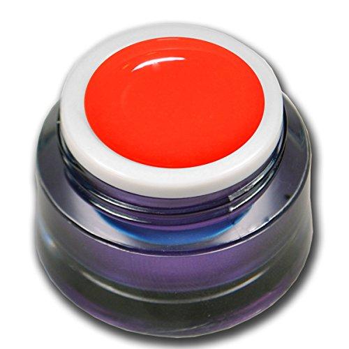 Gel de couleur orange fluo de qualité supérieure - 5 ml.