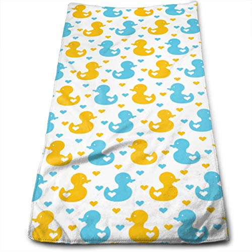 Hipiyoled Duck Duckling Pattern Toallas de Mano Suaves