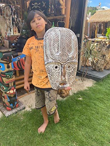Maske Modell Celtic - Maya Maske Indianer Dekoration Holz Handarbeit Mask Wood Celtic Decoration Decoration Original Little Big Horn