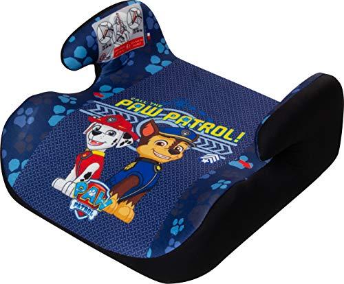 Osann 104-141-803 Kindersitzerhöhung Topo Luxe ECE Gruppe 2/3 (15-36 kg), Sitzerhöhung für Kinder mit Armlehnen, Paw Patrol blau