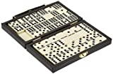 Philos 3601 - Domino, Doppel 9, in Kunststoffkoffer, Legespiel -