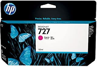 HP HEWB3P20A 727 Ink Cartridge, Magenta Standard Yield