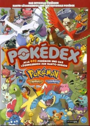 Pokémon - Das offizielle HeartGold und SoulSilver Kanto-Lösungsbuch und der nationale Pokédex