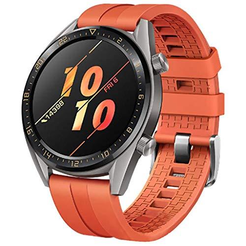 Cobar GT Active Cinturino,22mm Cinturino di Ricambio Compatibile per Huawei GT,Galaxy 46mm, Gear S3 Frontier/Classic,Ticwatch PRO,Pebble,Amazfit,Moto Mens Wristband