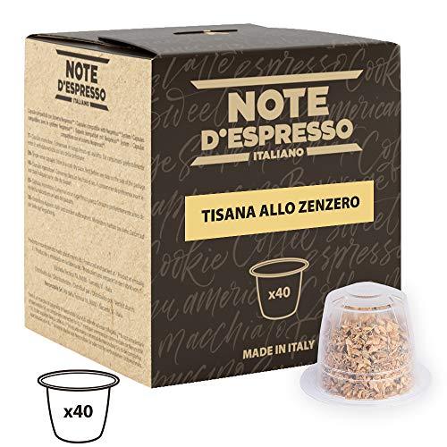 Exclusivamente Compatible con cafeteras Nespresso* (* No registrado en Amazon EU S.a.r.l.) Todo el sabor, el aroma y las propiedades saludables del jengibre en una pequeña cápsula de 2 gramos Hechos en Italia Práctica caja de 100 Cápsulas de nueva ge...