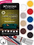 Coconix Fabric and Carpet Repair Kit - Repairer of Your Car Seat, Couch, Furniture, Upholstery or Jacket - Fixes Cigarette Burn Holes, Tear or Rips. Super Easy Instructions to Match Any Color, Pattern