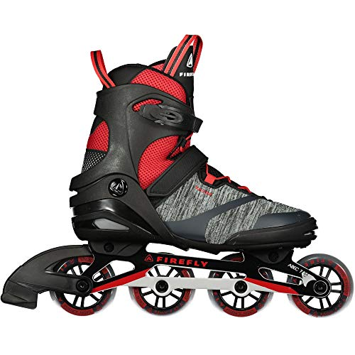Firefly Herren Ils 310 M84 Skateboardschuhe, Schwarz (Black/Red 900), 41 EU