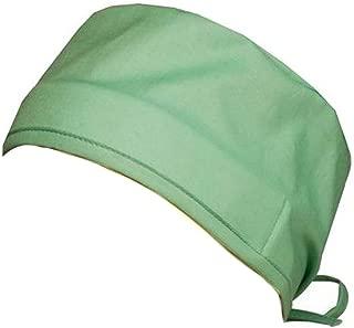 Mens and Womens Medical Scrub Cap - Scrub Green