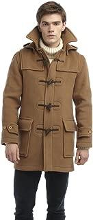 mens yellow duffle coat