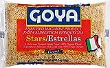 Goya Foods Estrellas (Stars) Pasta, 7-Ounce (Pack of 20)