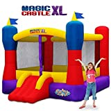 Blast Zone Magic Castle XL10 - Inflatable Bouncer with Blower - Premium Quality - Large - Holds 5 Kids - Fast Setup