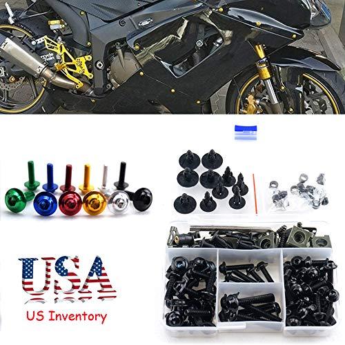 For Suzuki GSX R 1000 GSXR1000 GSXR 1000 GSX R1000 2012-2015 M5 M6 Complete Fairing Bolt Kit Body Screws