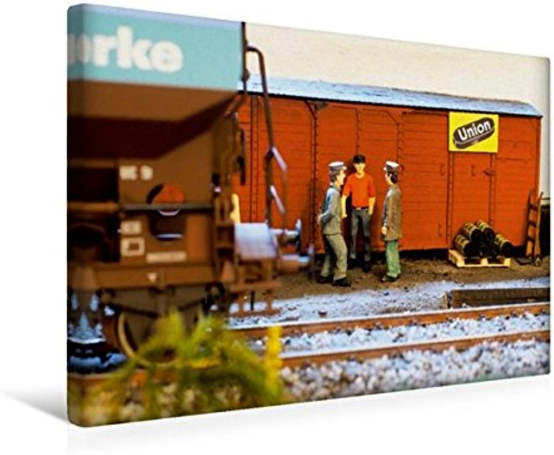 Calvendo Premium Textil-Leinwand 45 cm x 30 cm Quer, Plausch bei der Kohlenhandlung   Wandbild, Bild auf Keilrahmen, Fertigbild auf Echter Leinwand, Leinwanddruck Hobbys Hobbys B01KV724N2 Vorzugspreis  | Eine Große Vielfalt An Modelle 2019 Neue