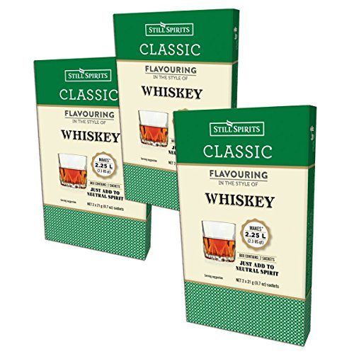 3X Still Spirits Classic Whiskey Premium Essence Smaken 2.25L