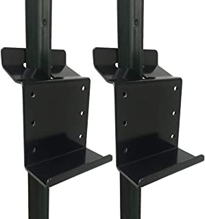 Highwild T-Post Target Hanger - T Post 2x4 Bracket Target Mount - AR500 Steel Gong Targets Conversion Adapter