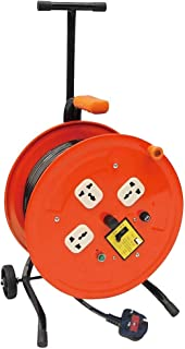 Lucus Rugged Power Reel With 3 Sockets And 50M Cable