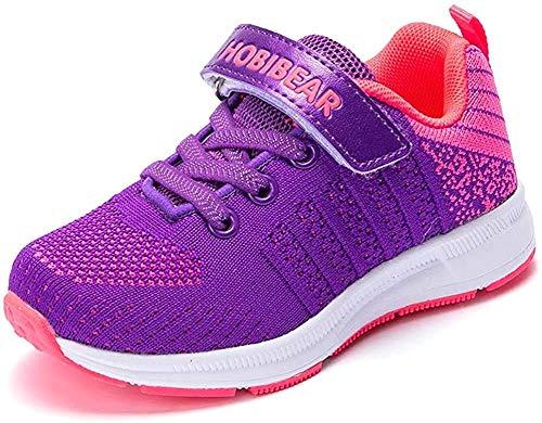 populalar Turnschuhe Kinder Sneaker Jungen Sportschuhe Mädchen Hallenschuhe Outdoor Laufschuhe Für Unisex-Kinder, Pink, 28 EU (Herstellergröße: 29)