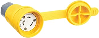 Connector, L5-30R, 30A, 125Vac, Yellow