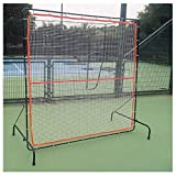 ZXMDP Tennis Rebounder, Rebound Wall for Tennis & Racquet Sports Ball Backboard, Portable Tennis Rebound Net