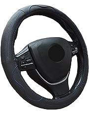 ZATOOTO車用ハンドルカバー 本革 s 握りやすい ステアリングカバー LY112