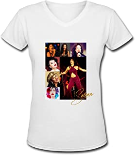 Selena Quintanilla Female Custom Shirt Black