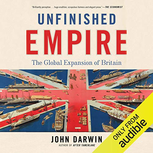 Unfinished Empire audiobook cover art