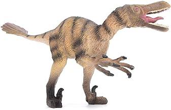 Figuras de animales, alta simulación Modelo animal Velociraptor Forma Animal salvaje Muñeca Cognición educativa Juguete Decoración Regalo para niños
