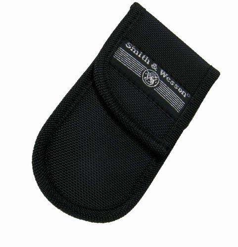 Smith and Wesson Étui en nylon avec clip en plastique pour couteau jusqu'à 13 cm de long Noir