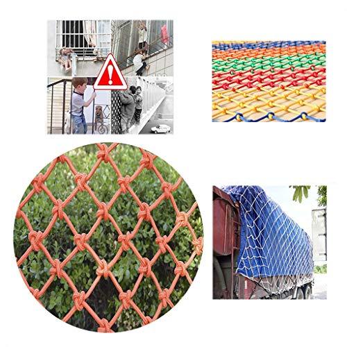 Outdoor Reling Kind Beschermende Netten - Touwnet Tuin Kinderen Klimnet Voor Buiten Camping Thema Feest Isolatie Bescherm Net Reisgoederennet (Size : 2 * 4M)