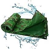 ZHCHL Lona Impermeable Gruesa 3x3m, Duradera Reforzado Aislamiento Térmico Lonas Muy Gruesa Impermeable con Ojales, para Flores, Lona De Invernadero