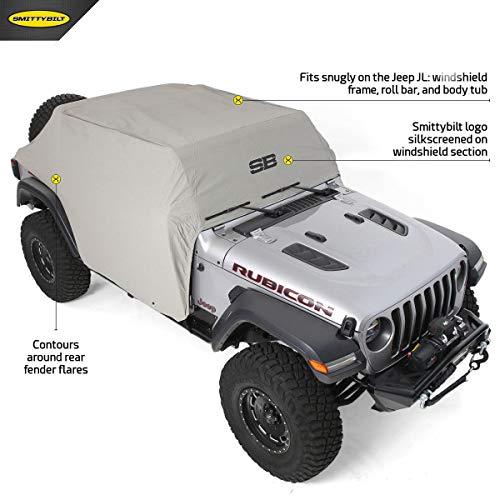 Smittybilt 1071 Cab Cover 2018-2019 Jeep JL 4 Door
