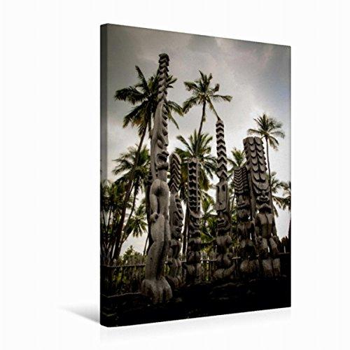 Calvendo Premium Textil-Leinwand 50 cm x 75 cm hoch, Ein Motiv aus Dem Kalender Hawaii - Inseltraum im Pazifik | Wandbild, Bild auf Keilrahmen, Fertigbild auf Echter Leinwand, Leinwanddruck Orte Orte
