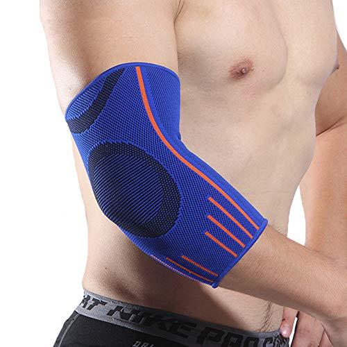WY-Elbow Coderas para tendinitis, Vendaje neuromuscular - para el esguince, el Alivio del Dolor en Las articulaciones, la tendinitis, el Tratamiento del Codo del tenista de Golf,S