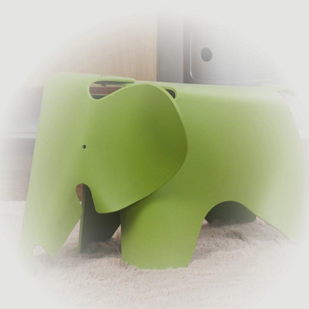 Tabouret de Bar YYF Plastique Elephant Chaise épaississant Creative éléphant à Chaussures Banc A
