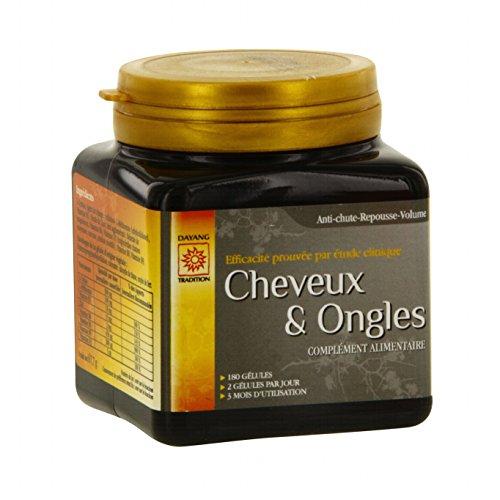 Dayang - Cheveux Et Ongles Pilulier 180 Gélules
