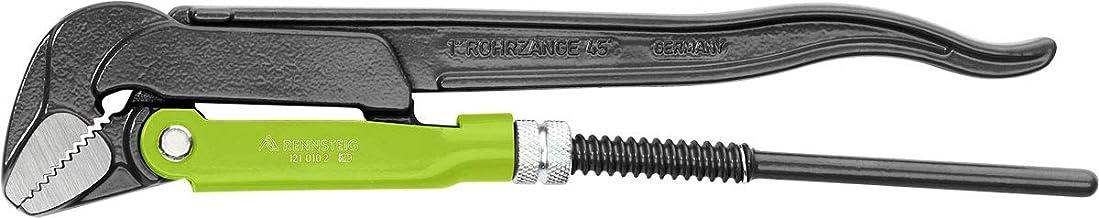 "Rennsteig 121 015 2"" Standard 45 Degree Pipe Wrench, Red, 1 1/2-Inch"