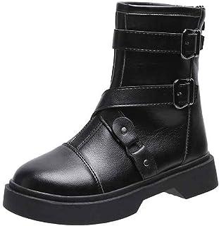 ZOSYNS Chelsea winterlaarzen voor dames, korte laarzen, warm gevoerd, modieus, casual, comfortabel, antislip, sneeuwlaarze...