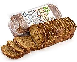 Pan Proteico SiempreTierno XXL 500 grs · Pan Keto Proteinado Bajo en Carbohidratos · 28% de Proteínas · Ideal dietas...