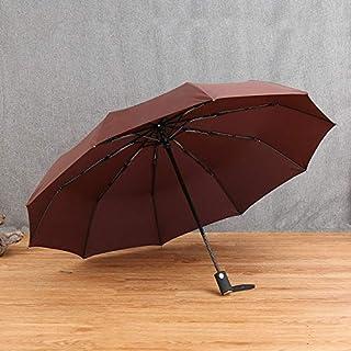 Paraguas plegable a prueba de agua a prueba de viento del engranaje plegable abierto automático de la lluvia del paraguas ...