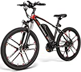 Autoshoppingcenter 26 Inch Electric Bikes for Adults, Mountain Ebike Bicycles for Mens Women